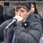 【演奏】154万回再生!ロンドンの広場でボイパをする青年のテクニックが凄すぎて最後には凄い人だかり!