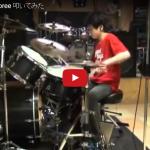 【演奏】ネットで話題の中学生ドラマー山近拓音君のJimbo Jamboreeもドラムの才能が光る!