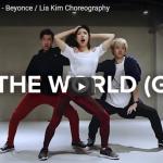 【ダンス】 1316万回再生!Lia KimのRun The Worldがイケメン2人をバックに炸裂ダンス!