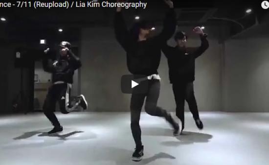 【ダンス】61万回再生!Lia KimがBeyonceの7/11でイケメン2人引連れパワフルダンス披露!