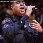 【ソング】155万回再生!国歌斉唱の歌い手不在。ピンチを救った警備員の歌声に観客喝采に!