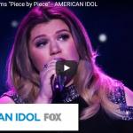 【ソング】1066万回再生!審査員も泣かせたアメリカンアイドル初代優勝者ケリー・クラークソンさんの歌が心を打つ!