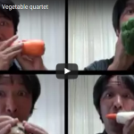 【演奏】15万回再生!ネットで拡散!野菜で演奏する男が凄技過ぎる件!