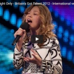 【ソング】112万回再生!11歳の女の子が歌う歌に大きな歓声!これが歌で強く心を打つという事だ!