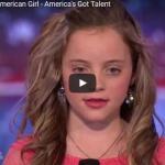 【ソング】585万回再生!実力派の11歳の少女が歌うカントリーソングが会場を温かくし沸きに沸かす!