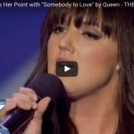 【ソング】3277万回再生!29歳のバーテンダーの女性が第一声で観客を魅了しその歌唱力で歓喜に沸かす