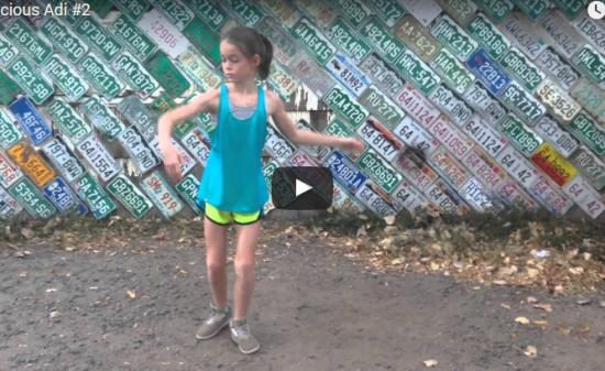 【ダンス】123万回再生!独学でストリートダンスをここまで躍る少女!好きこそ力!