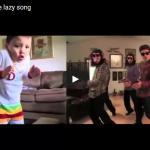【ダンス】30万人がキュンとした!ブルーノ・マーズのLazy SongのPVを真似る幼児が可愛すぎる件♪