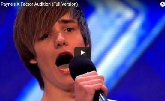 【歌】1127万回再生!14歳の時一度落ちたワンダイレクションのリアム が2年後成長をし見事勝ち取る!