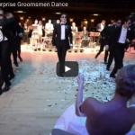【ダンス】717万回再生!バレリーナの花嫁を驚かせた花嫁の付添人のダンスがプロ級!