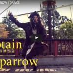 【ダンス】完成度高し!何と!キャプテン・ジャック・スパロウのアニメーションダンス!