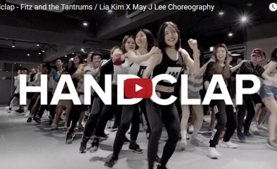 【ダンス】119万回再生!超人気イントラMayJLeeの出演のHandClapも弾けて大盛り上がり!