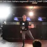 【ダンス】世界で活躍している菅原小春の感性と熱狂の爆発するレッスンシーンが正に鳥肌立つレベルに凄い!