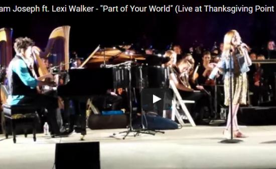 【歌】全米を虜にした11歳の天才少女レキシー・ウォーカーが歌うリトルマーメイドが癒しの波長で癒される
