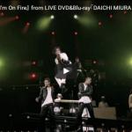 【ダンス】22万回再生!三浦大知のI'm On FireのLIVEバージョンが大知のパワー炸裂で異次元!