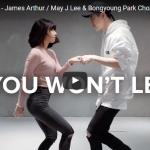 【ダンス】749万回再生!韓国人気ダンサーMay J Leeがジェームズ・アーサーの曲で見事なデュエットを踊る!