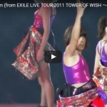 【ダンス】105万回再生!e-girlsも出演の伝説の円形ライブでナイナイの岡村と踊るダンスナンバーが熱い!