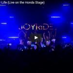 【ダンス】ティナーシェのRide Of Your Lifeのライブが歌もダンスもジワジワ惹きつけ観客を魅了!