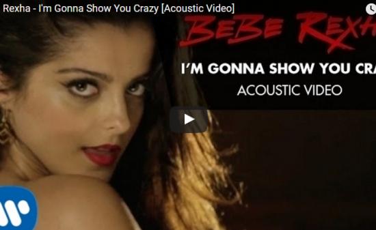 【歌】95万回再生!ベベ・レクサの I'm Gonna Show You Crazyが言葉を超え感情に訴えかける!