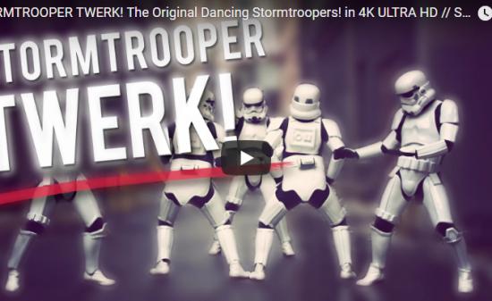 【ダンス】91万回再生!ScottDW制作のストーム・トルーパー達のダンスがエンタメ感満載で面白い!