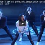 【ダンス】328万回再生!Lia Kim振付 TV番組Mediacorp Channel 5で観客を沸かすダンス!
