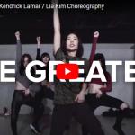 【ダンス】402万回再生!Lia KimがSiaの名曲The Greatestをセンス抜群に振付け踊る!
