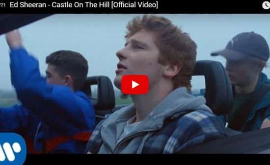 【歌】3.2億万回再生!エド・シーランの大ヒット曲Castle On The Hill心躍り暖かくなるいい歌だ!