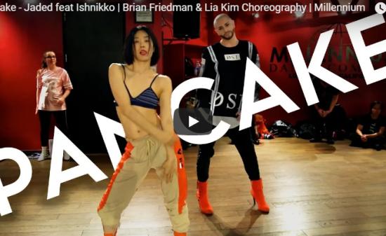 【ダンス】105万回再生!Lia Kimがブライアン・フリードマンとラボでセンス抜群のキレキレダンスで魅了!