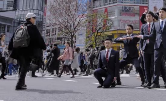 【ダンス】84万回再生!須藤元気率いるWORLD ORDERが池袋や原宿や渋谷を舞台に魅せる魅せるダンス!