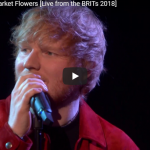 【歌】1599万回再生!エド・シーランのSupermarket Flowersのライブで観客が沸きに沸く!