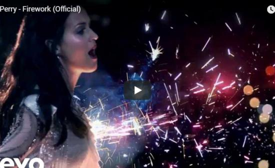 【歌】11億万回再生!ケイティ・ペリーのFireworkが多くの人を静かに力強く心押し世界的に爆ヒット!