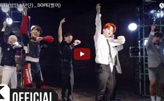 【ダンス】3.7億万回再生!防弾少年団(BTS)のDOPEがパワフルにリズミカルにキレあるダンスで魅了!