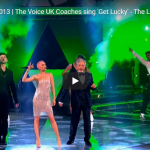 【歌】410万回再生!ジェシーJがThe Voice UKで豪華アーティストと名曲Get Luckyで熱狂ライブ!