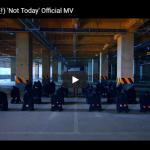 【ダンス】2.6億万回再生!防弾少年団(BTS)のNot Todayがパワフルのダンスとサウンドで熱く燃える!