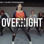 【ダンス】33万回再生!Lia KimがOvernightでテンポよくキレのいいダンスを熱く踊り盛り上がる!