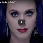 【歌】8.6億万回再生!ケイティ・ペリーの見事な映像美のヒット曲Wide Awakeが静かに心に響く歌だ!