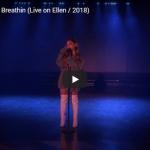 【歌】537万回再生!アリアナ・グランデのBreathinのライブで圧倒的オーラと歌で会場を熱く歓声の渦に!