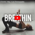 【ダンス】51万回再生!May J Leeがアリアナ・グランデのbreathinでエモーショナルダンスで魅了!