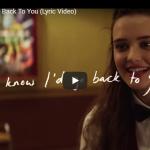 【歌】1億万回再生!様々なカップルの気持ちが交錯するセレーナ・ゴメスが歌うヒット曲Back To Youが心打つ!