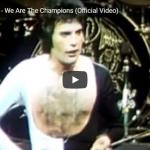 【歌】1.6億万回再生!クイーンの名曲We Are The Championsのソウルの籠ったロックに鳥肌立つ!