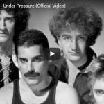 【歌】1.2億万回再生!クイーンとデヴィッド・ボウイの共作Under Pressureが時代を超え心揺さぶる名曲!