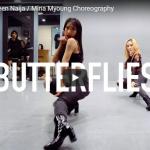 【ダンス】36万回再生!Mina MyoungがQueen NaijaのButterfliesで艶あるダンスで魅了!