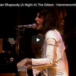 歌】映画にもなったクイーンの伝説の名曲Bohemian Rhapsodyのライブ映像が時代を超えて心を熱く打つ!