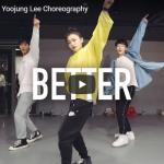 【ダンス】101万回再生!韓国の人気イントラYoojung LeeがカリードのBetterでに雲の上を滑るような華麗なダンスに心奪う!