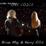 【歌】12万回再生!ブライアン・メイとケリー・エリスがコラボしたOne Voiceを圧倒的な歌唱力で心に響かせる!