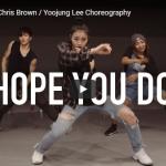 【ダンス】59万回再生!Yoojung Leeがクリス・ブラウンのHope You Doで神掛ったダンスが凄い!