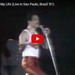 【歌】37万回再生!クイーンの観客と大合唱した伝説のライブを彷彿させるLove Of My Lifeのライブ映像が熱い!