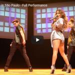 【歌】アリー・ブルックのブラジルサンパウロのVámonosライブがオーラ全開で会場を熱気の渦にする動画が熱い!