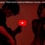 【歌】52万回再生!アリアナ・グランデとマット・ベネットがコラボしたI Think You're Swellのライブがワクワク全開で心踊る!