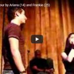 【歌】47万回再生!実兄と歌う14歳の時のアリアナ・グランデの歌がこの時から天才的過ぎて圧倒的な歌唱力で魅了!